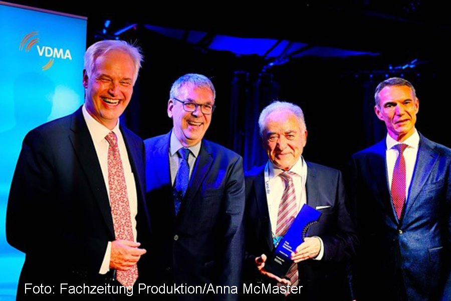 """Dkfm. Friedrich K. Eisler, CEO and Chairman of WEILER and winner of the """"Prize German Engineering"""""""