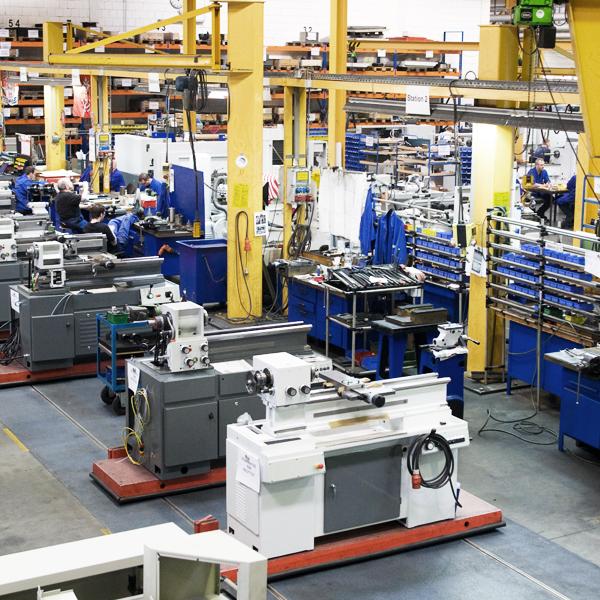 WEILER Drehmaschinen werden in Emskirchen gefertigt